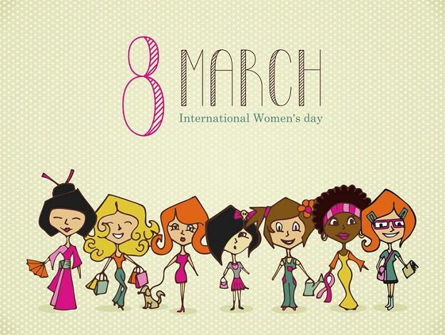 8-March-International-Womens-Day-Clipart
